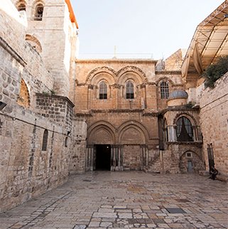 Online Prayer Request at Church of the Holy Sepulchre