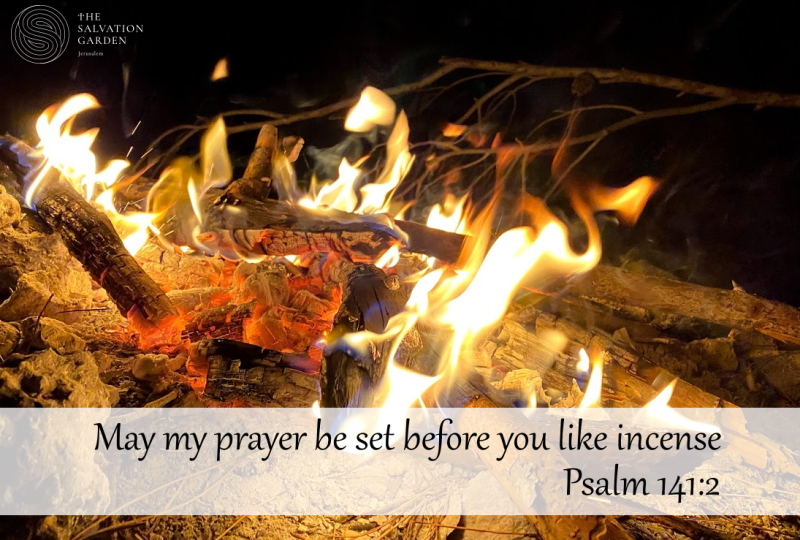 Burn your prayer in the holy land