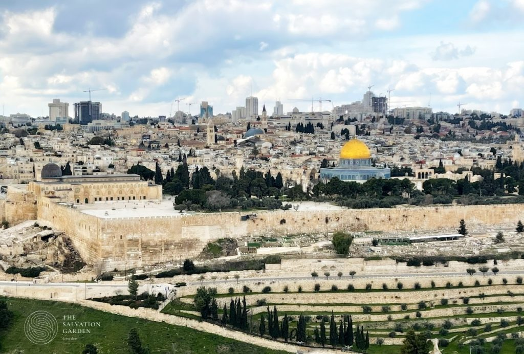 Ascension Day Prayer Request - view from the Mount of Olives
