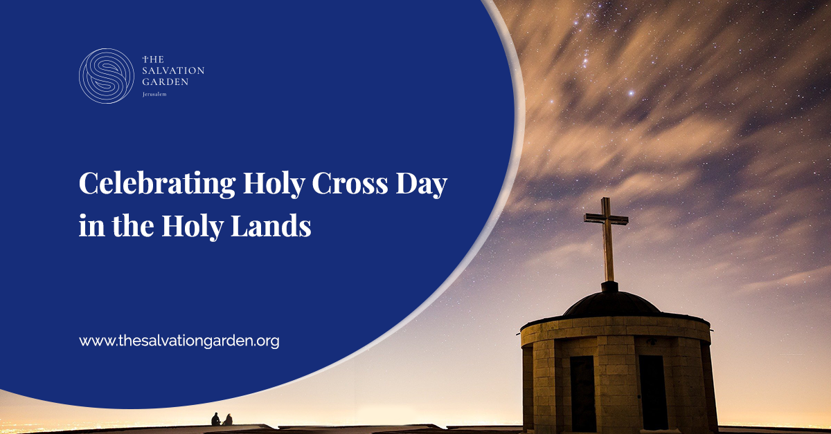 Holy Cross Day Celebration in the Holy Lands